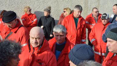 Над 200 медицински специалисти и студенти протестираха за дойстойно заплащане