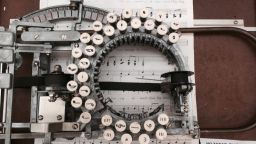 Пишеща машина на ноти - хит на пазара за антики