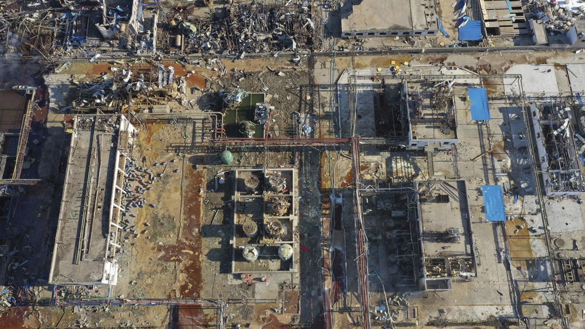 Рязко нарасна броят на жертвите от взрива в китайския