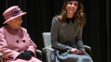 Защо Кейт чака 8 години за първия си самостоятелен ангажимент с Елизабет II