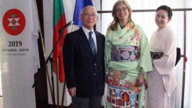 Захариева стана първият модел на кимоно с български мотиви за олимпиадата в Япония