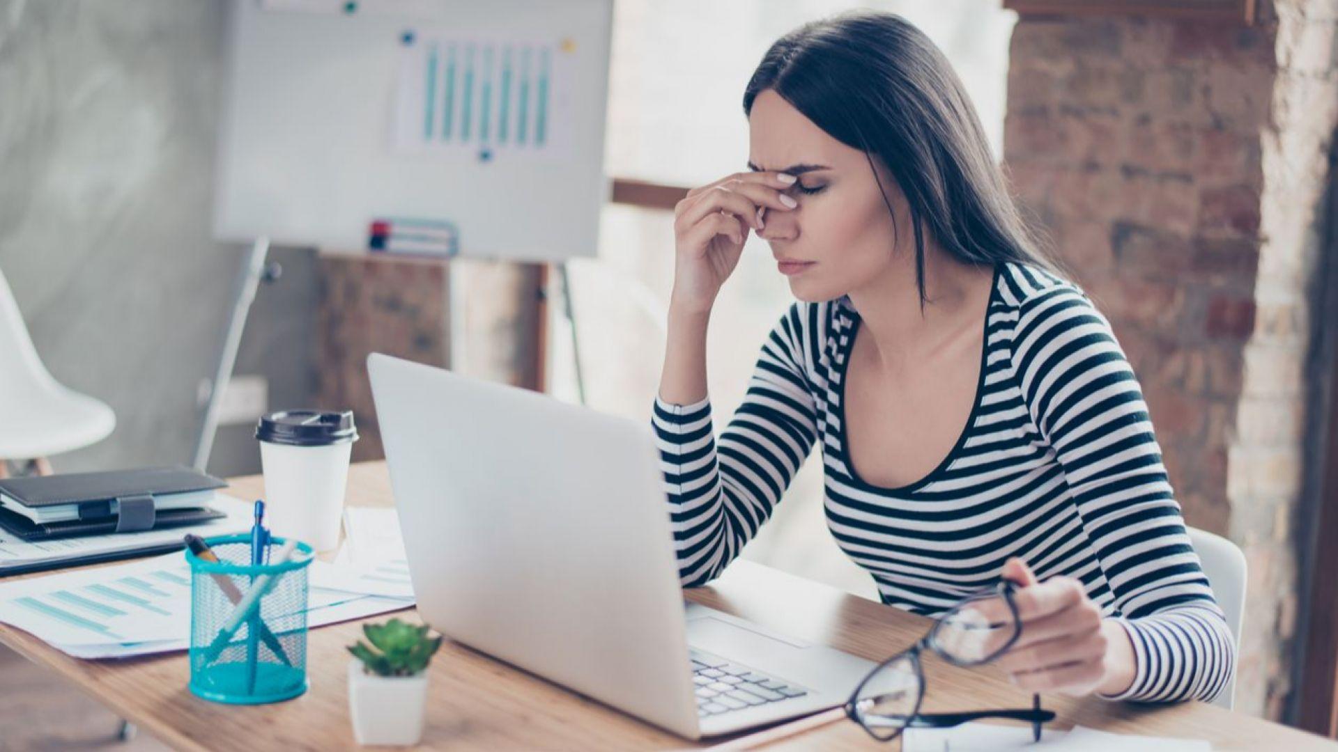 40% от напускащите работа у нас посочват бърнаута като причина