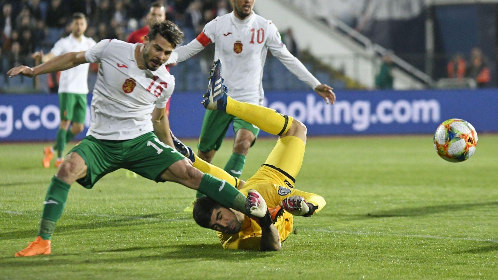 Френски рефер ни поднесе една точка срещу Черна гора