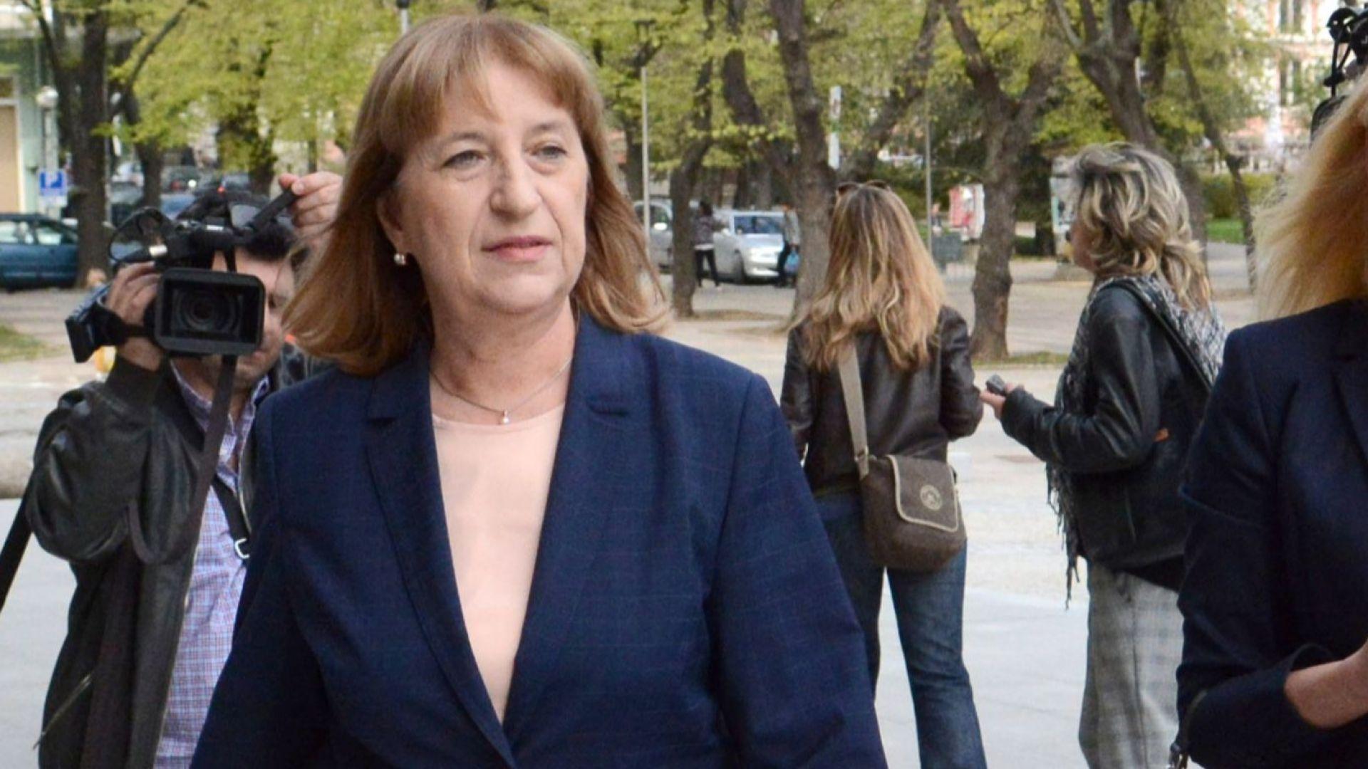 Снимка: Цачева за оставката й: Нямам никакви притеснения за извършено престъпление