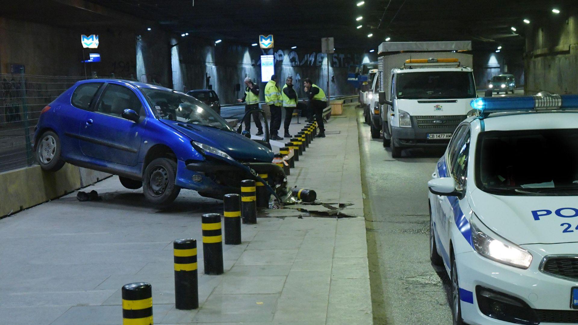 Местят спирката в тунела под НДК, за да предотвратят трагедии