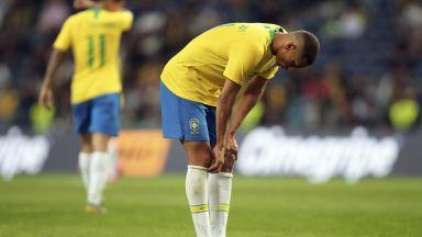 Бразилия бра срам срещу боксовата круша от Мондиала