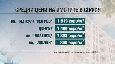 """Кредитен консултант: Цените в кв. """"Изток"""" са между 1500 и 3000 евро на м2"""