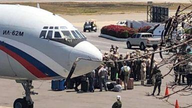 Руски военни кацнаха във Венецуела