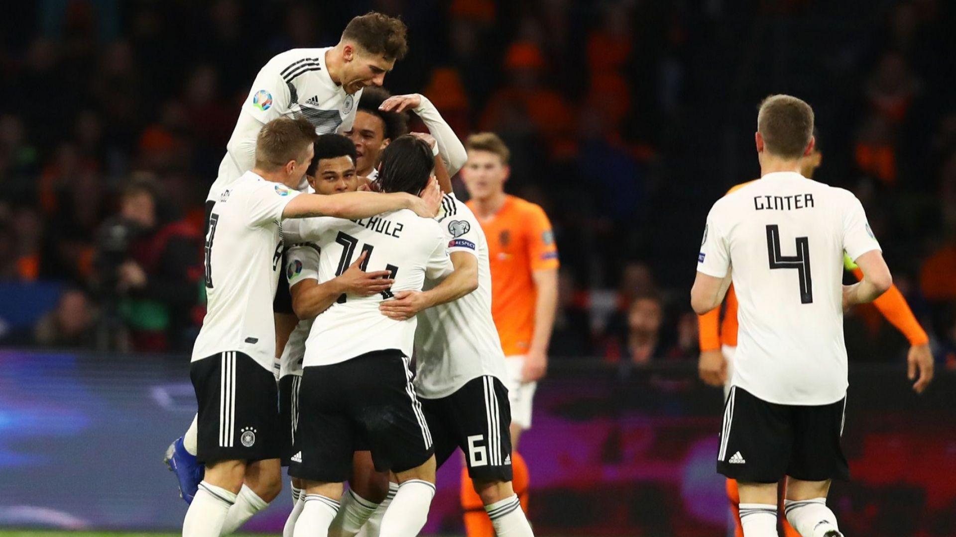 """Германия попари сърцатите """"лалета"""" с гол в края"""