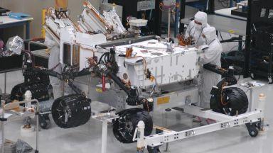 Следващият марсоход премина първите си тестове