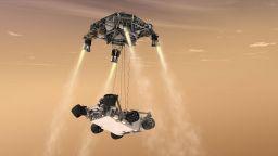 Къде ще кацне новият роувър на Марс (снимки)