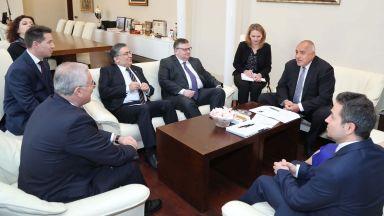 Борисов се срещна с главния прокурор на Турция Мехмет Акарджа