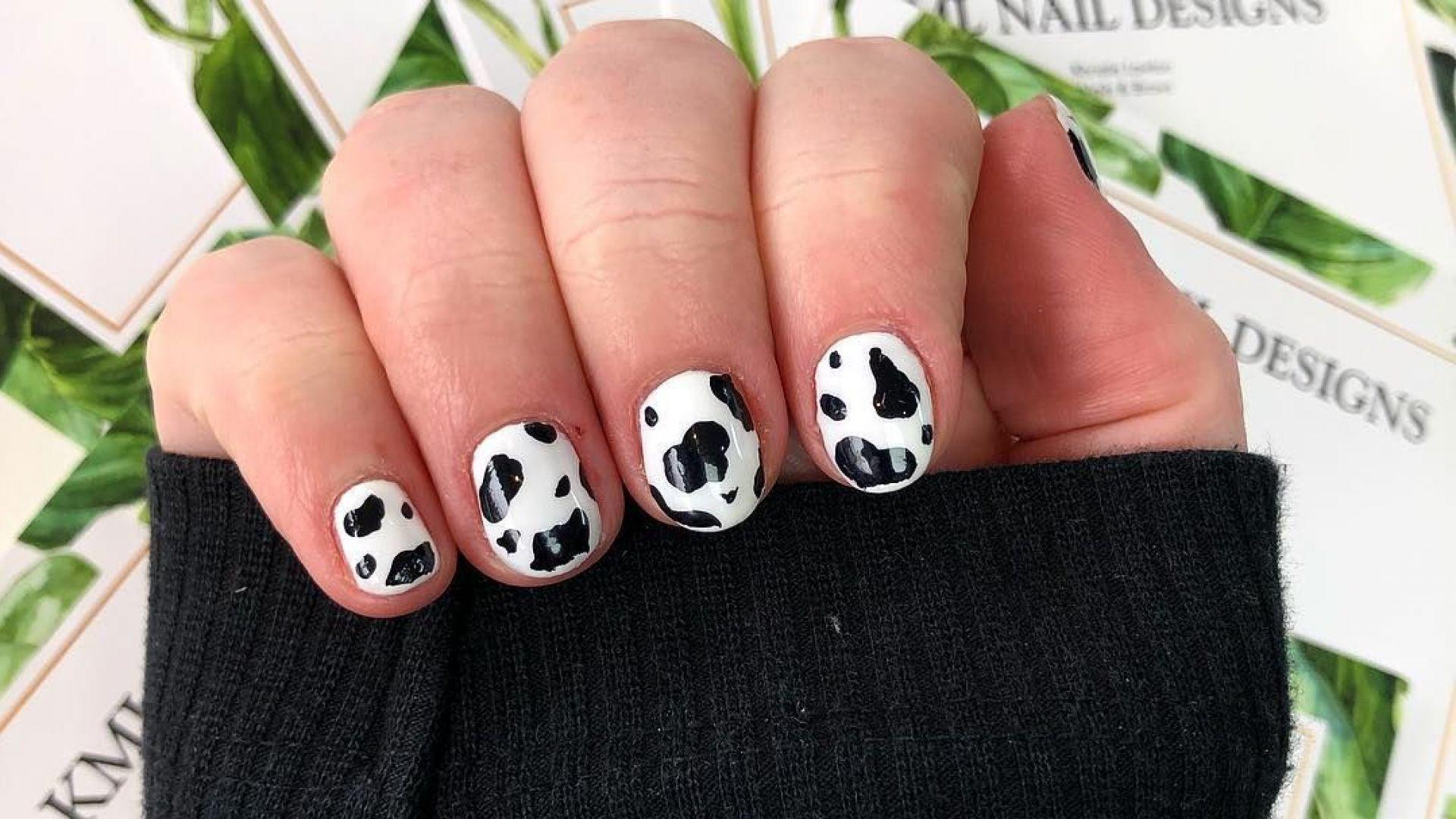Последният писък на модата е маникюр с шарки на крава