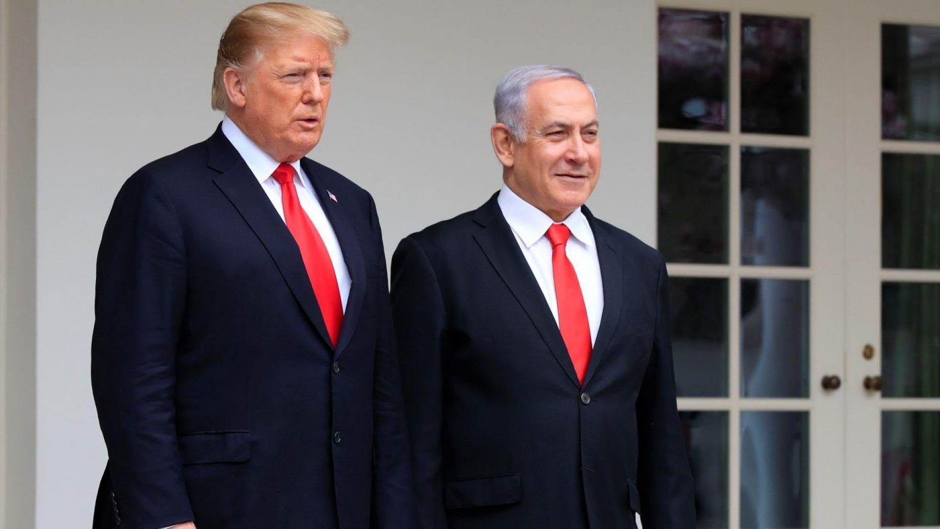 Тръмп призна суверенитета на Израел над Голанските възвишения, остри световни реакции