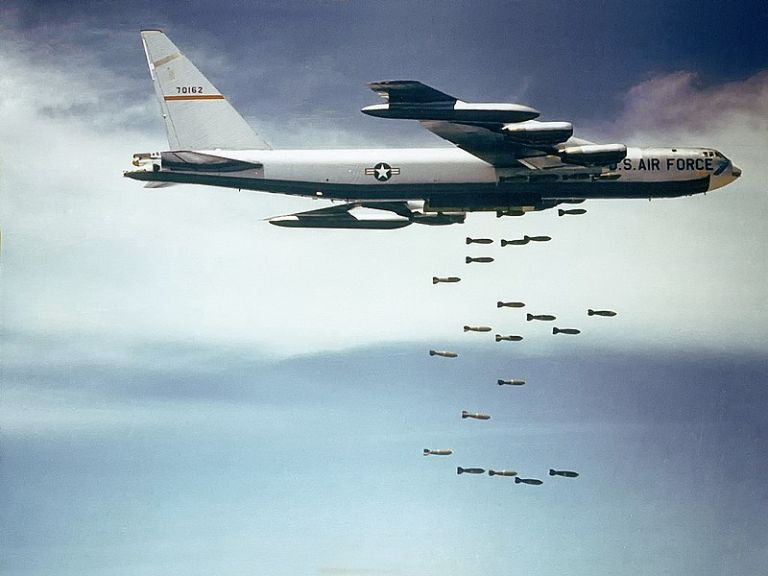 Американски ядрени бомбардировачи близо до границата с Русия