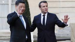 Си Цзинпин в Елисейския дворец: Китай иска силна и просперираща Европа