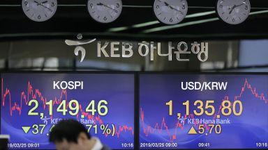 Южна Корея отчете най-ниския икономически растеж за последните 10 г.