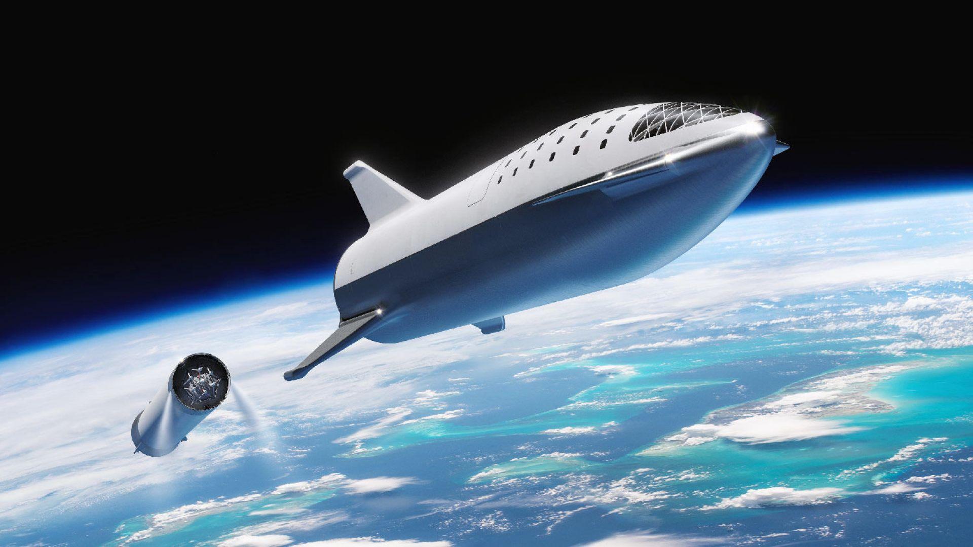 SpaceX: Пътят от Ню Йорк до Лондон ще трае 29 минути