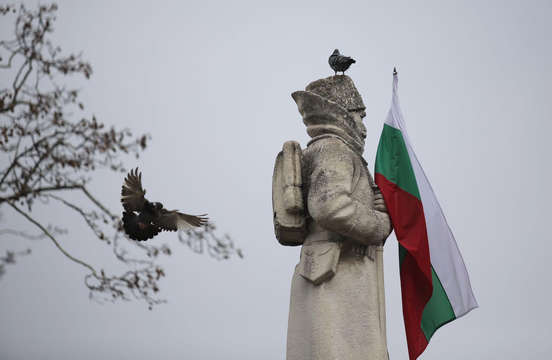 """Паметникът """"Одринска епопея"""" в столицата"""