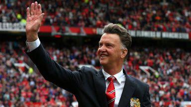 Прощалното интервю на Ван Гаал: За разочарованието Манчестър Юнайтед