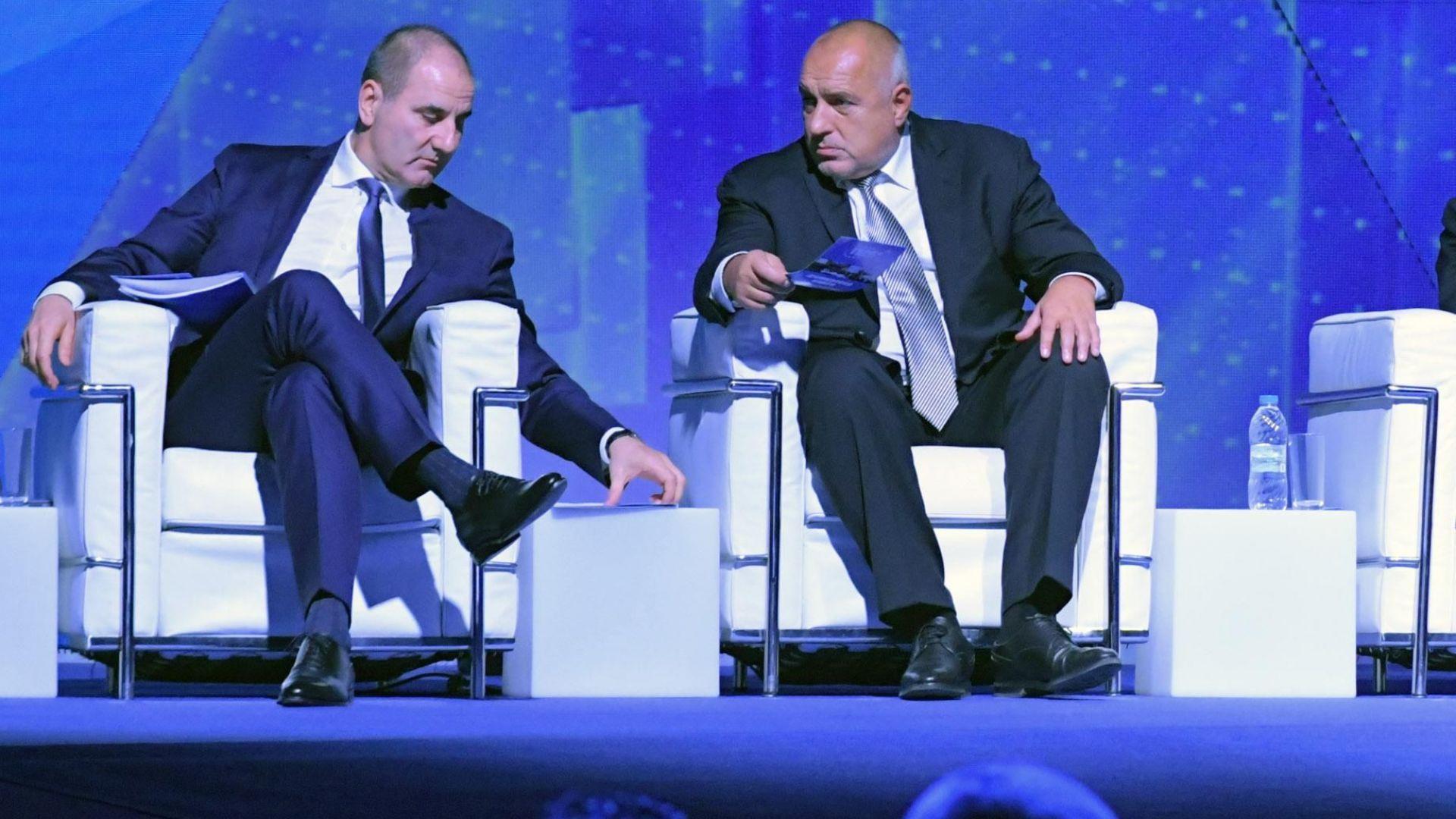 Борисов: Не искам повече Веско Маринов да ми пее, нямаше трети вариант за Цветанов
