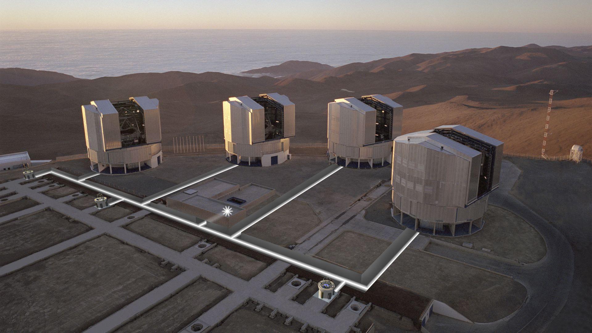 Наблюдаваха директно планета извън Слънчевата система