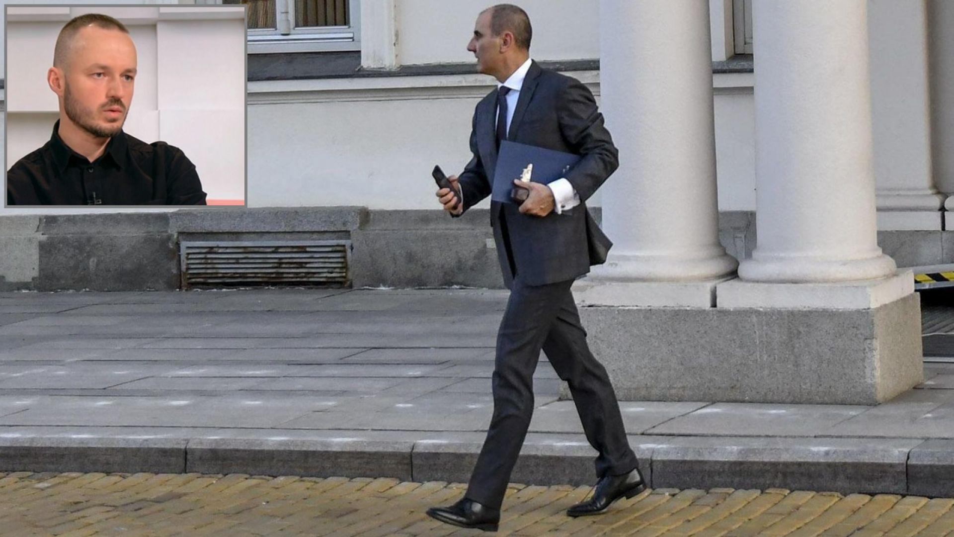 Доц. Стойчо Стойчев: Решението на Цветанов може да превърне скандала в позитив за ГЕРБ