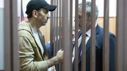 Московски съд остави в ареста задържания бивш руски министър