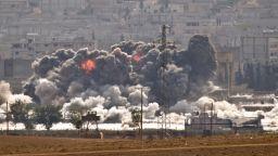 Израел атакува с ракети Сирия тази нощ (видео)