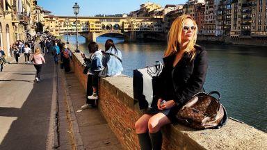 Вики от Мастило отпразнува 3 години брак в Италия
