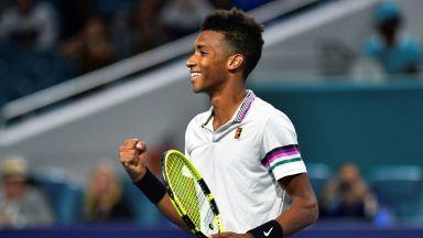 Феликс след победата над Григор: Играх най-добрия си тенис