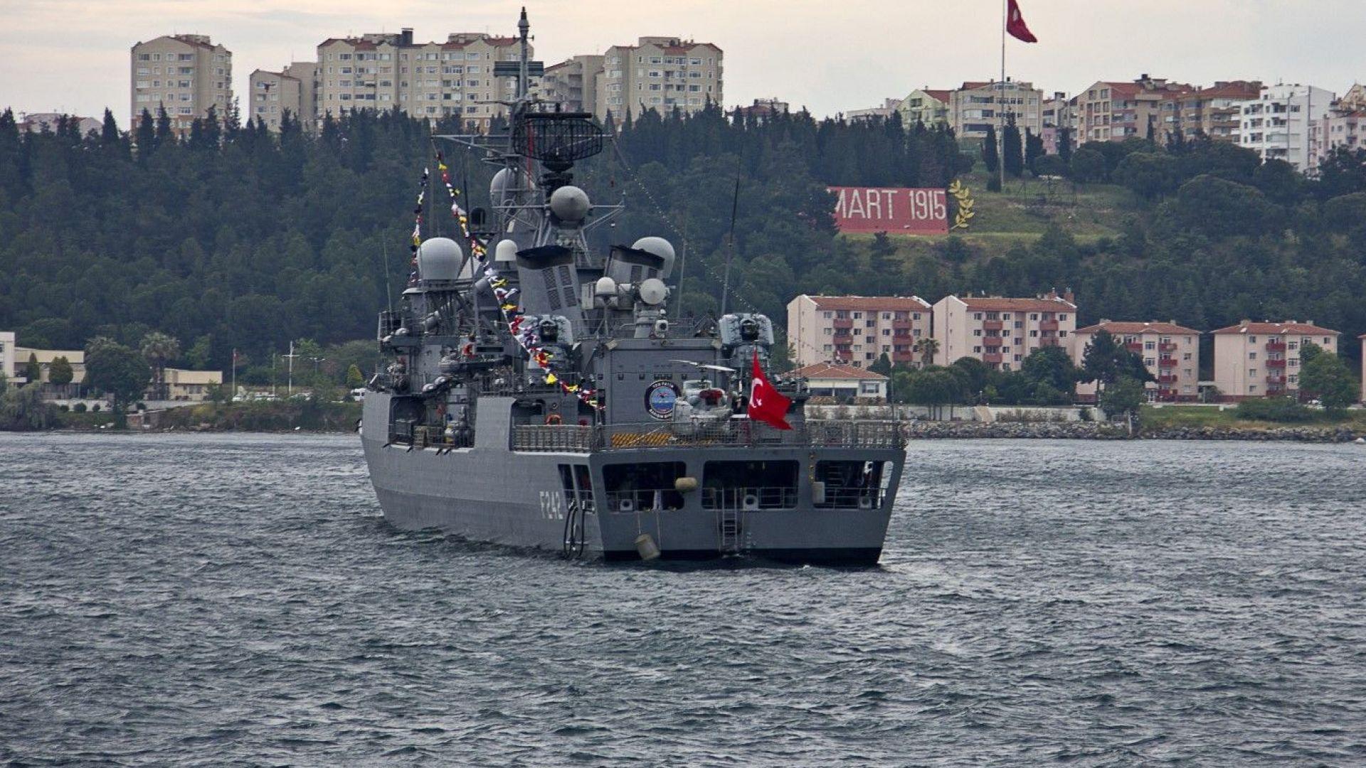 Група кораби на НАТО влизат днес в Черно море