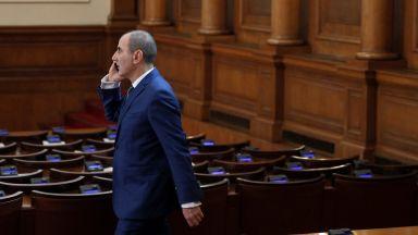 Парламентът прекрати пълномощията на Цветан Цветанов