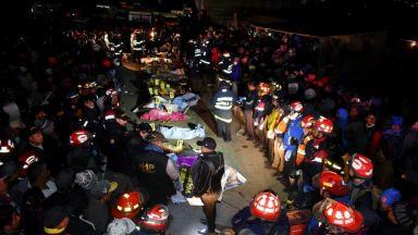18 души бяха прегазени с камион в Гватемала (видео)