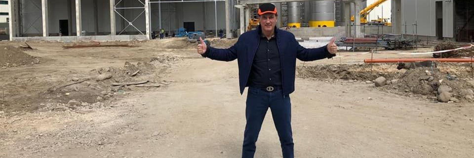 Кирил Домусчиев показа новия си завод за 320 млн. лева