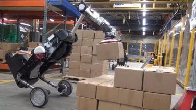 Робот на Boston Dynamics заменя хората в склада
