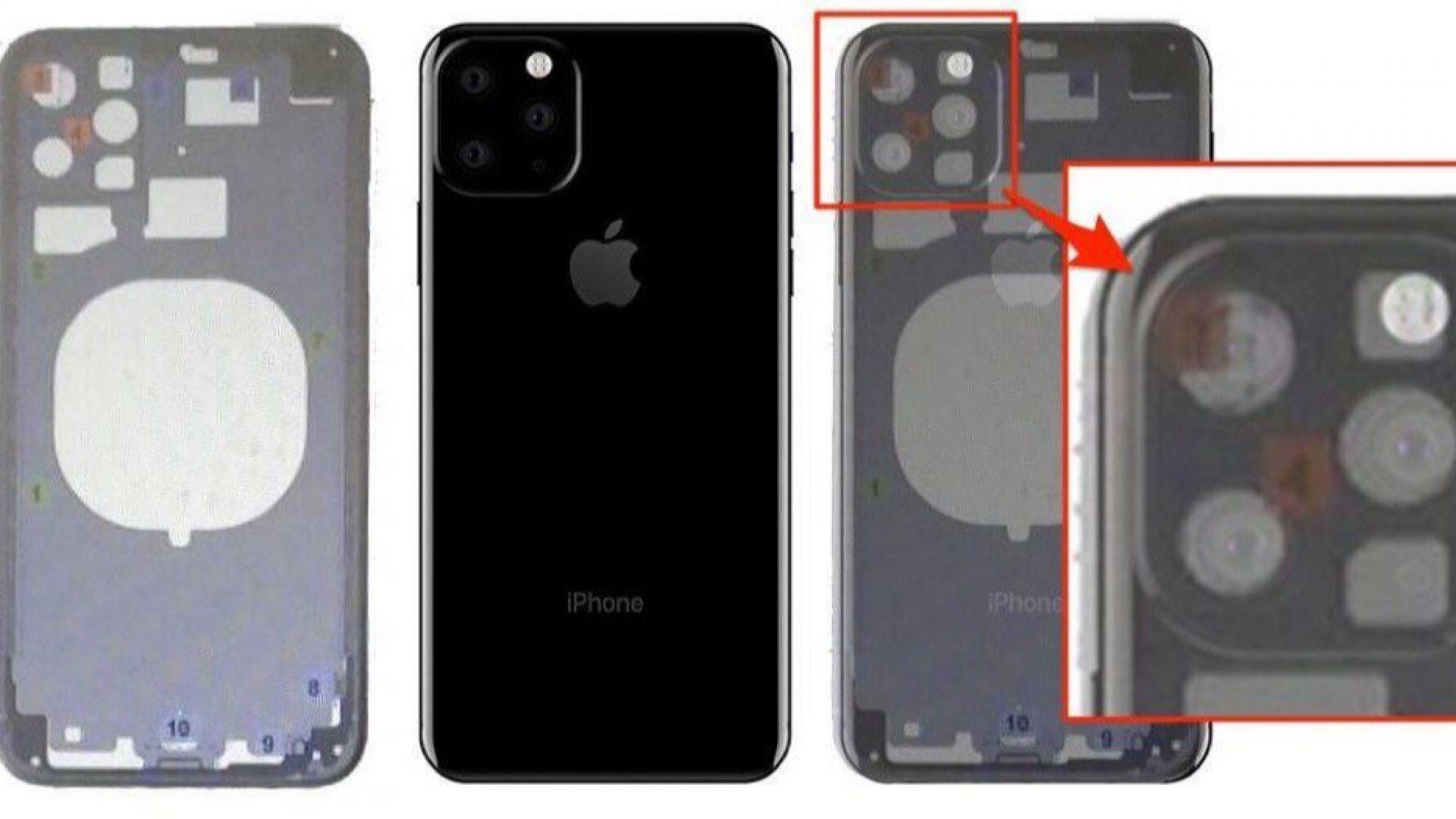 Появи се първата скица на iPhone XI