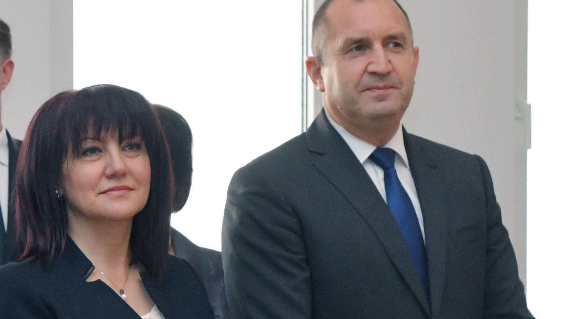 Румен Радев и Цвета Караянчева се срещнаха с външния министър на Ливан