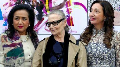 Цветана Манева откри италиански фестивал на красотата и прическата