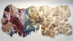 Арт от текстилни отпадъци, в защита на океана