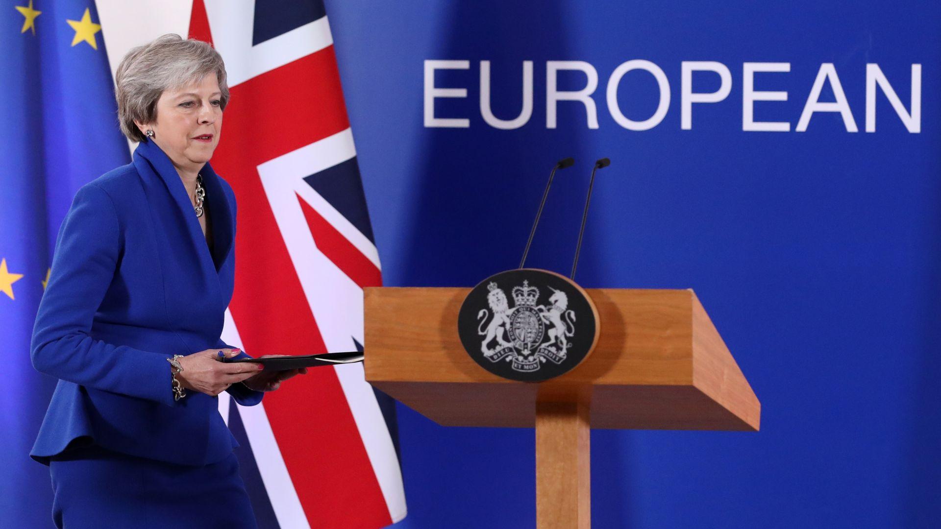 Извънреден Европейски съвет, след като Лондон пак отхвърли сделката на Тереза Мей