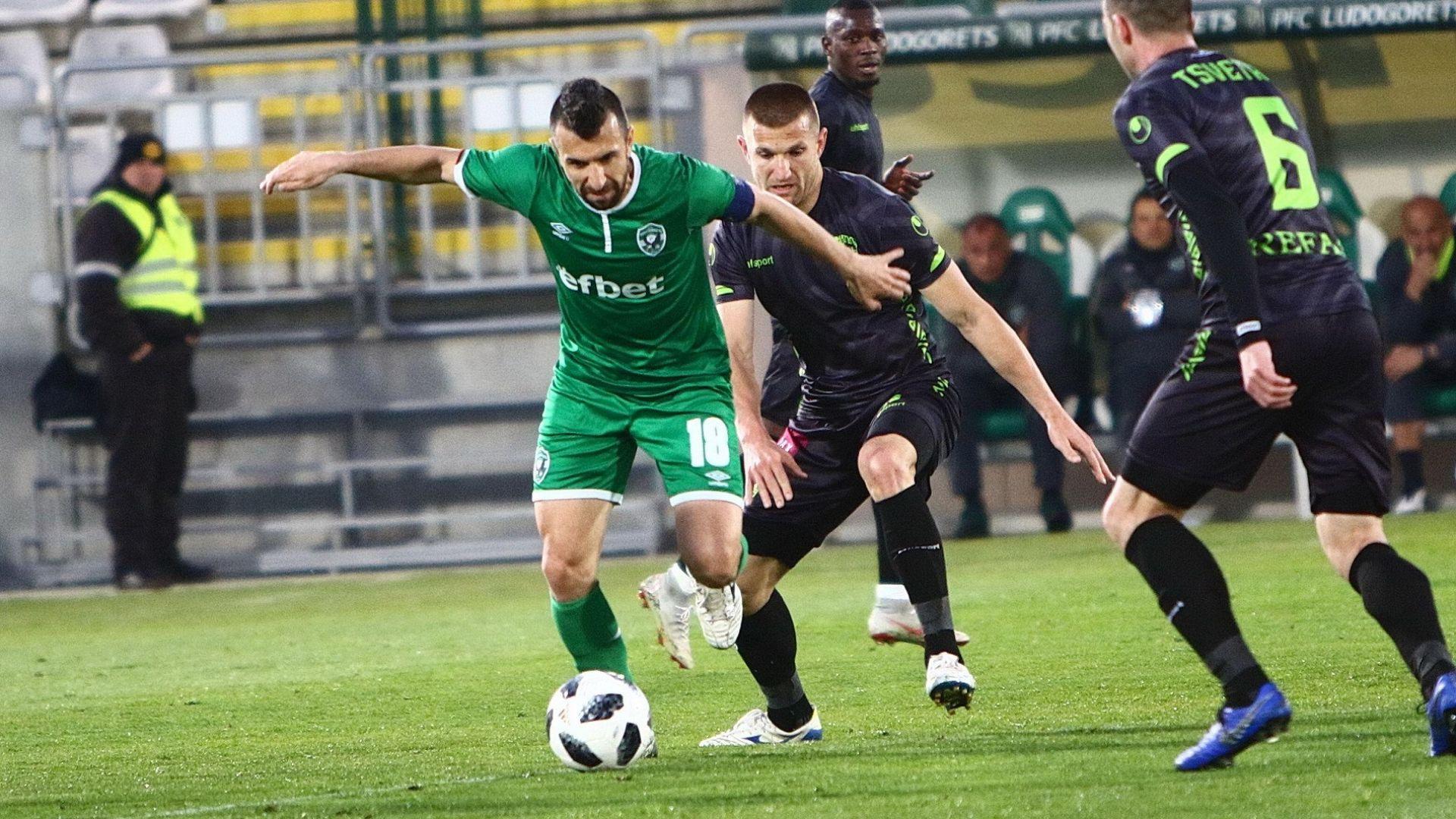 Лудогорец се издъни преди мачовете с ЦСКА