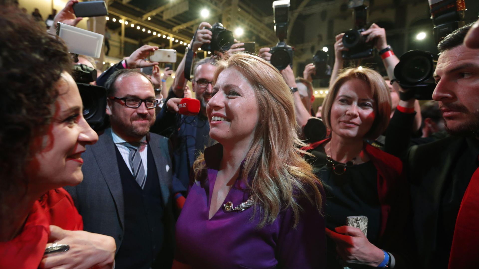 Адвокатка става първата жена - президент на Словакия, пребори еврокомисар