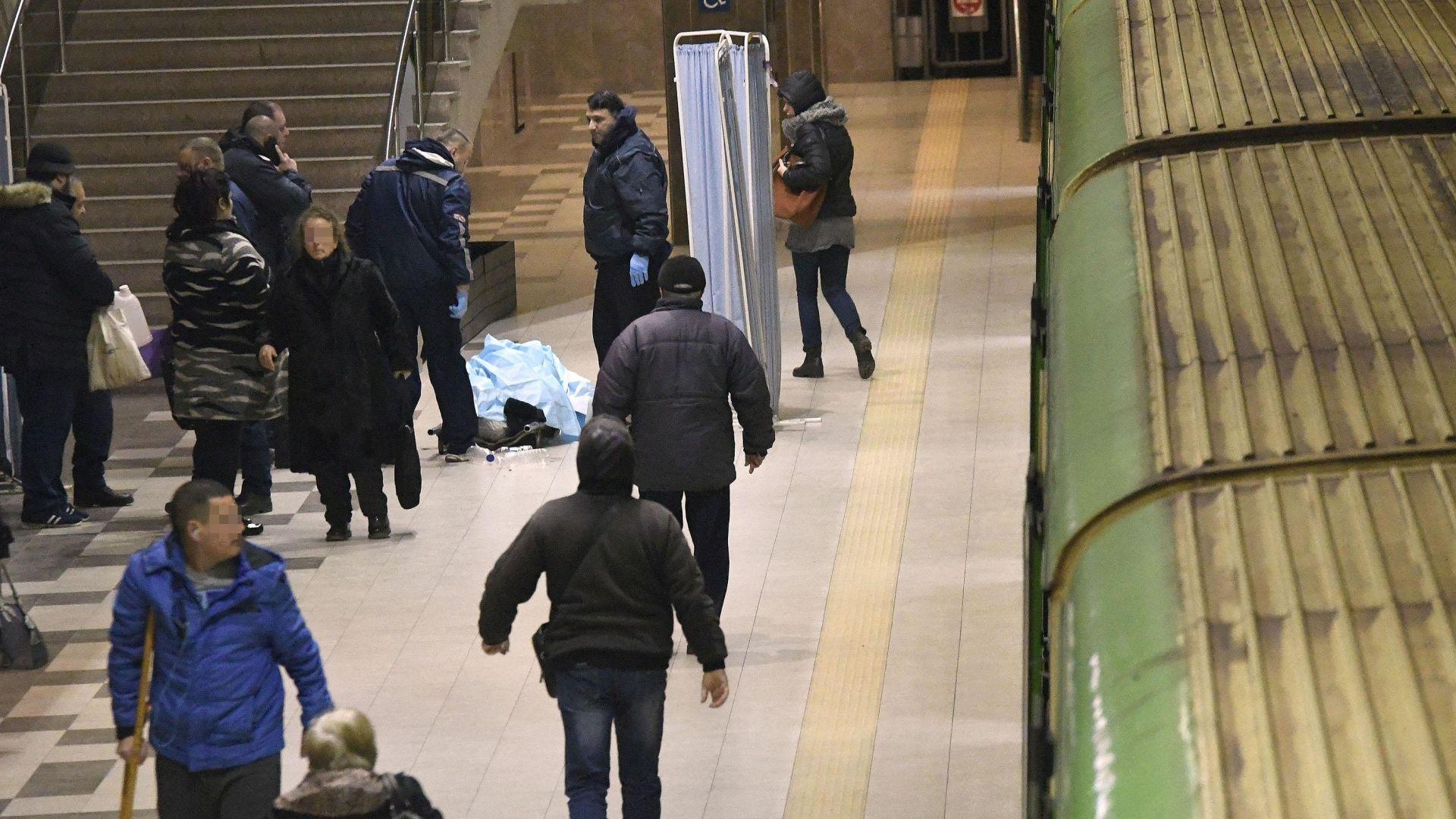Възрастен мъж почина в метрото