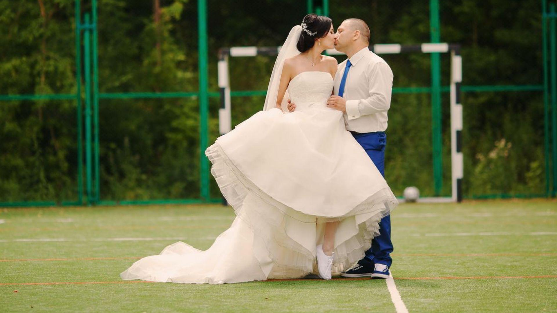23% от британците искат сватбата им да е на стадион