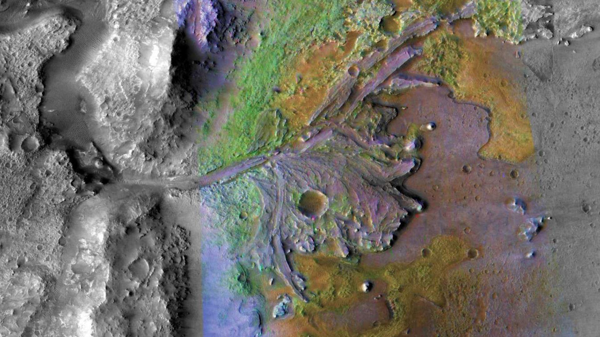 В продължение на милиарди години на Марс е имало вода