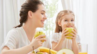 Много родители не знаят как да хранят здравословно децата