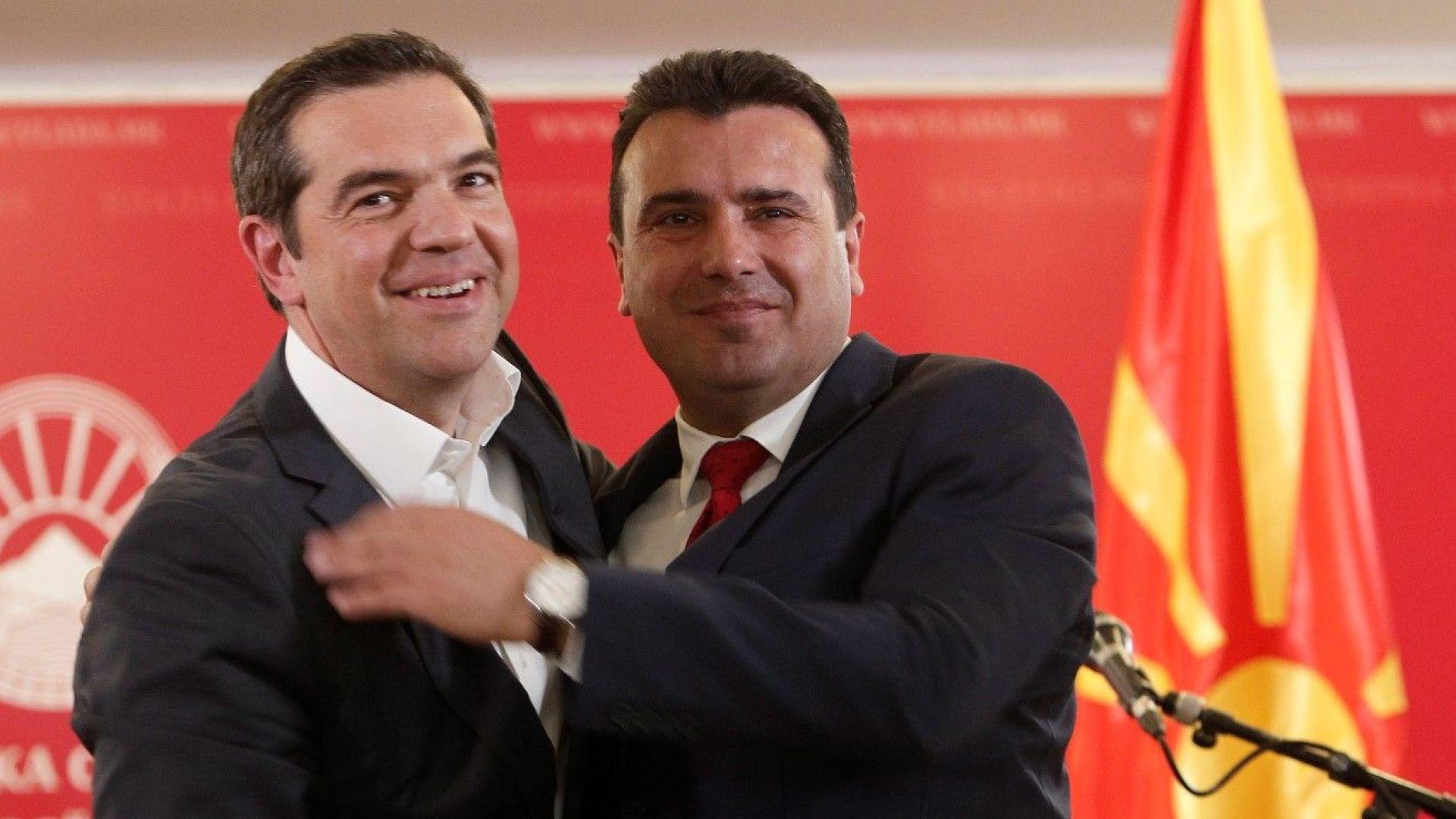 Гръцки изтребители ще пазят небето на Северна Македония