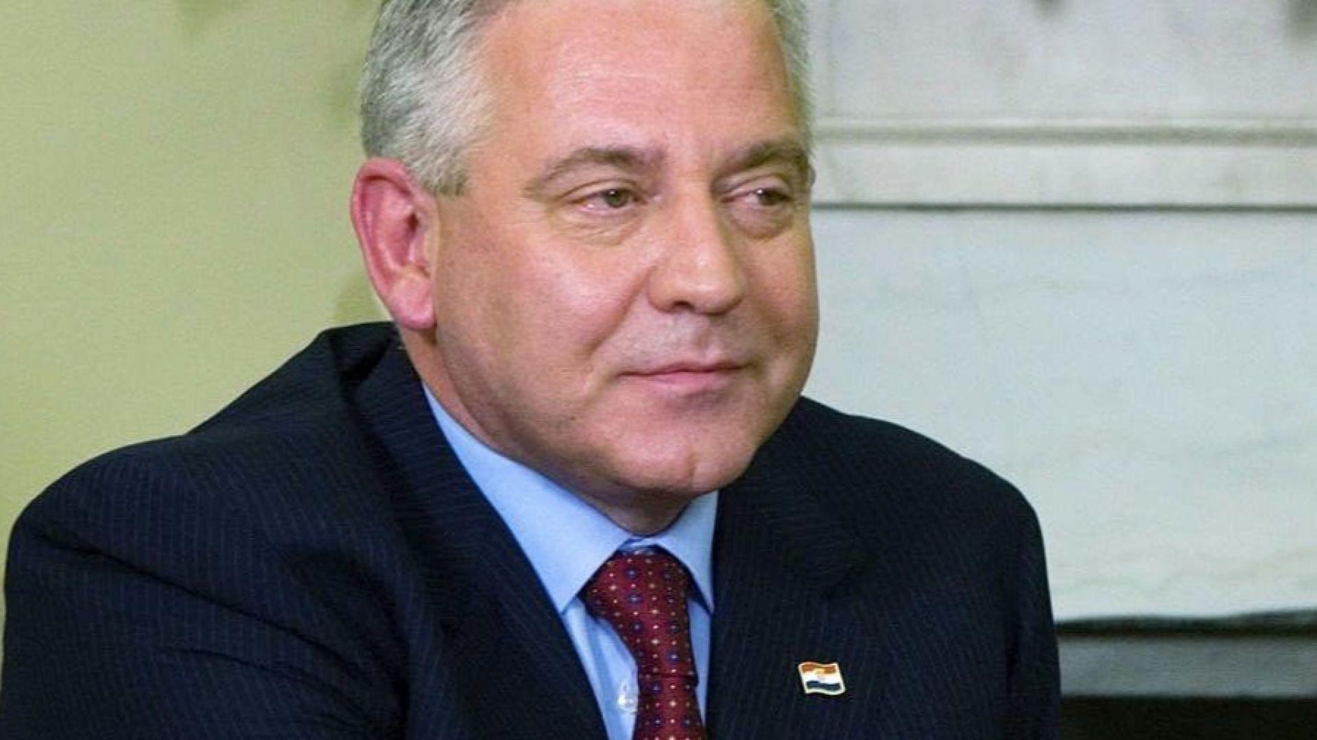 Вкараха в затвора бившия хърватски премиер Иво Санадер