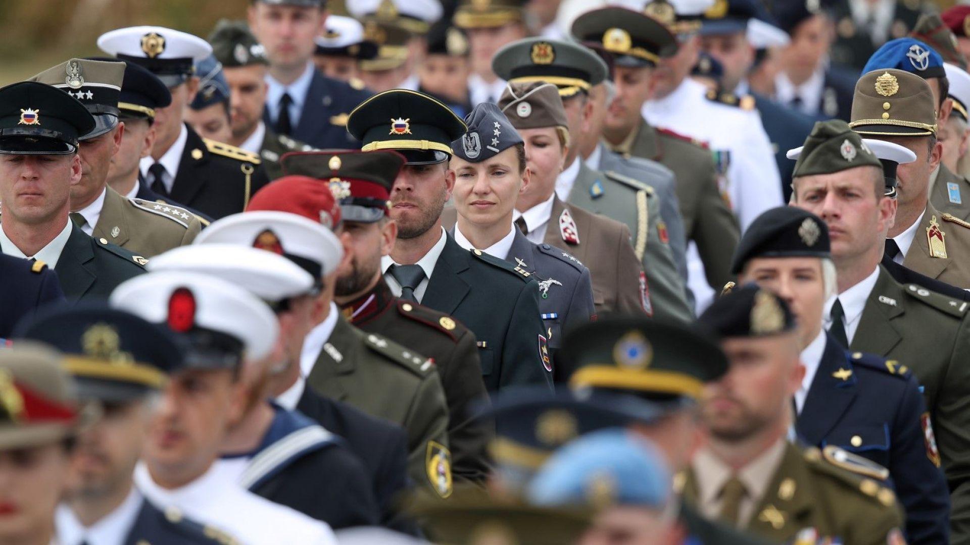 НАТО отбелязва във Вашингтон своята 70-годишнина, но има някаква ирония